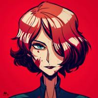 War-face Wednesday: Black Widow by AndrewKwan