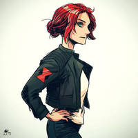 Casual Friday: Black Widow by AndrewKwan