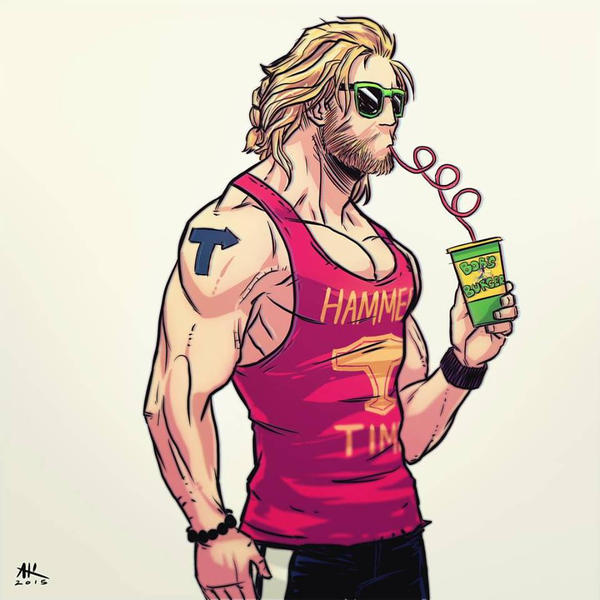 Casual Friday: Thor by AndrewKwan