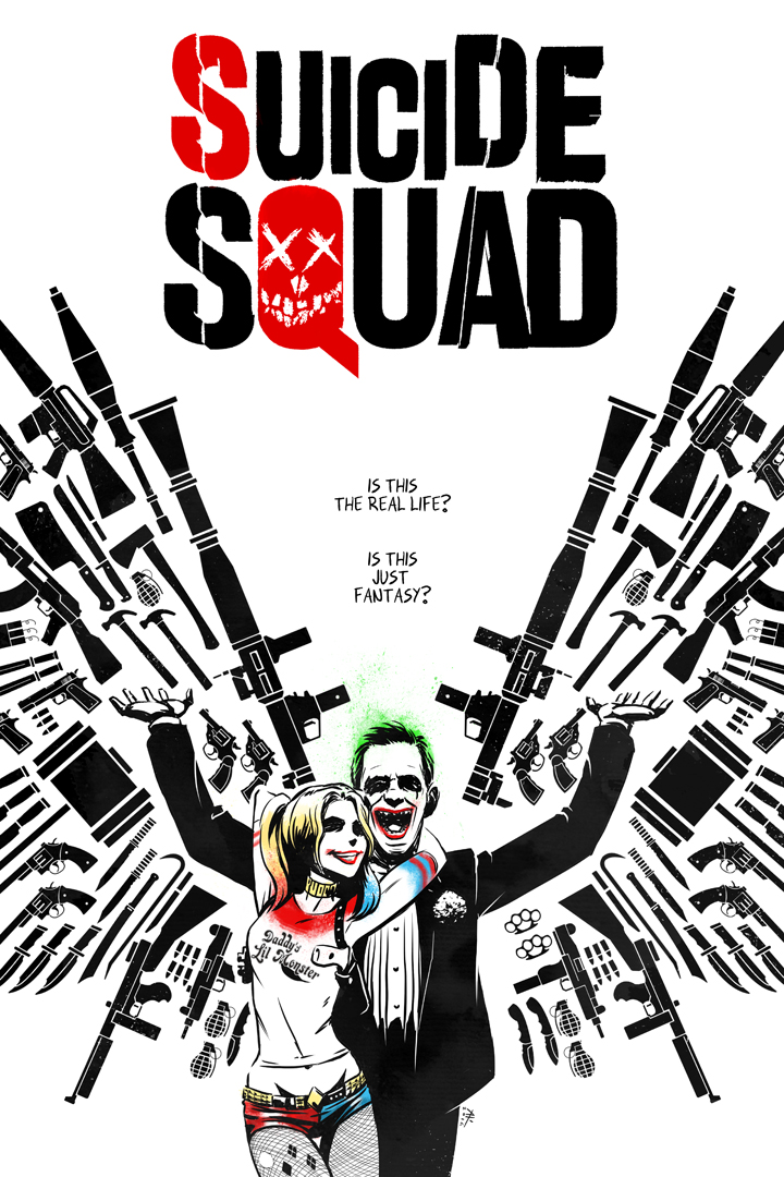 Suicide Squad by AndrewKwan