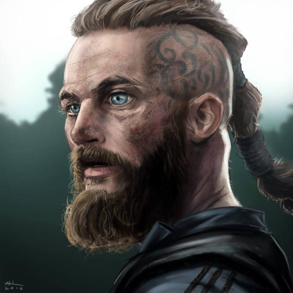 Ragnar Painting Study by AndrewKwan