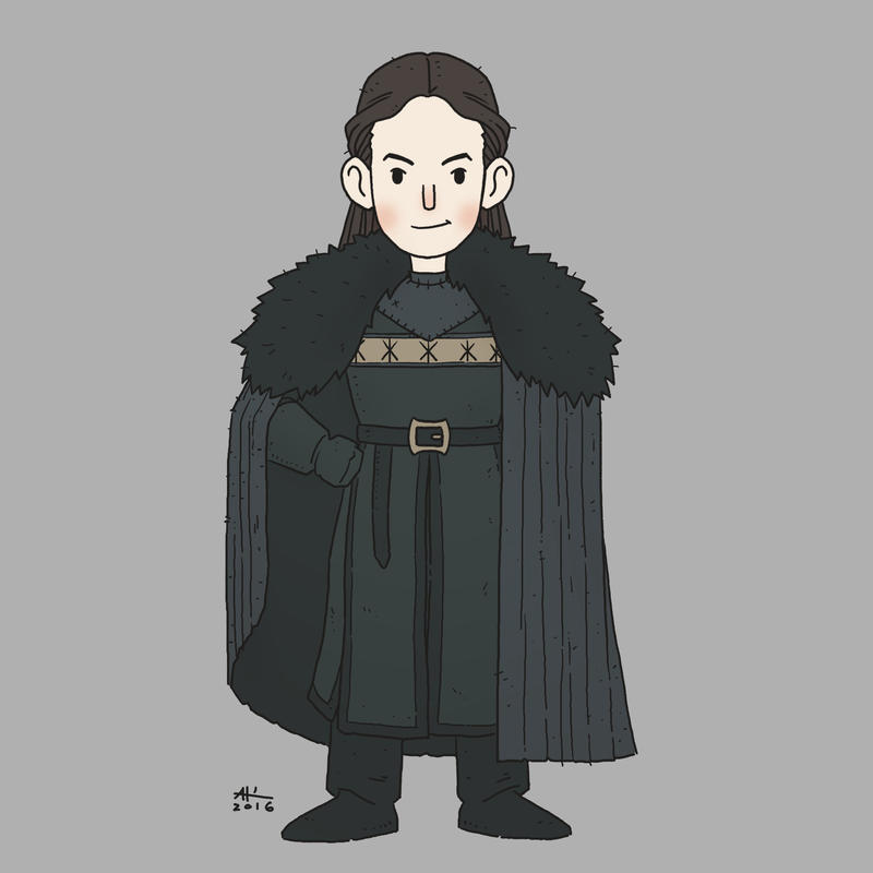 Lady Mormont by AndrewKwan