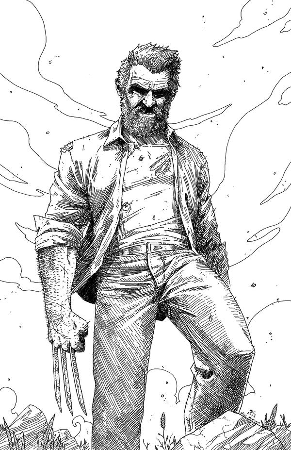 An Old Man named Logan by AndrewKwan