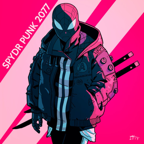 Spidersona by AndrewKwan