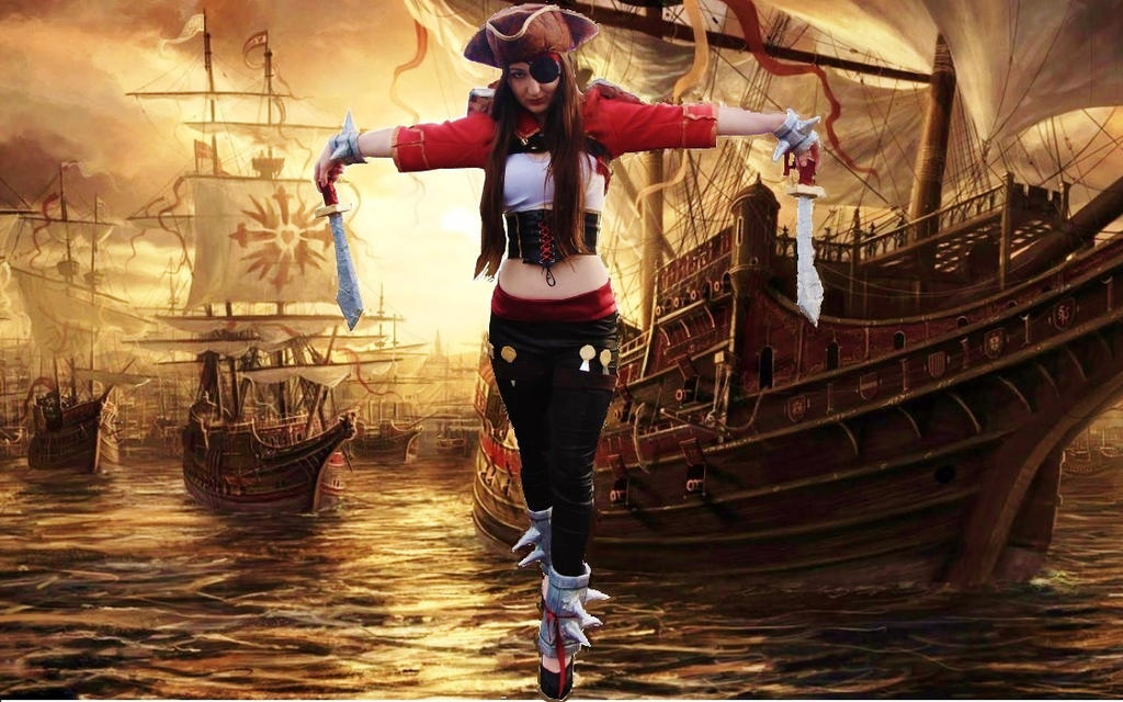 Bilgewater Katarina League Of Legends Cosplay by SaxaPeach ...