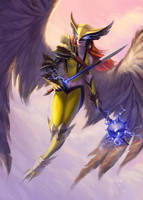 Hawkgirl by JBellio