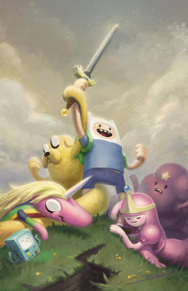 Adventure Time by JBellio