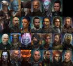 Pillars of Eternity Portraits
