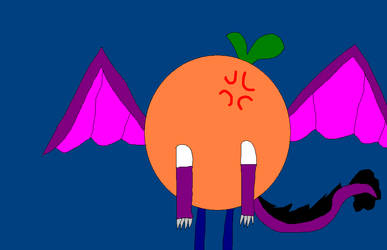 An Orange by SLPPegasister