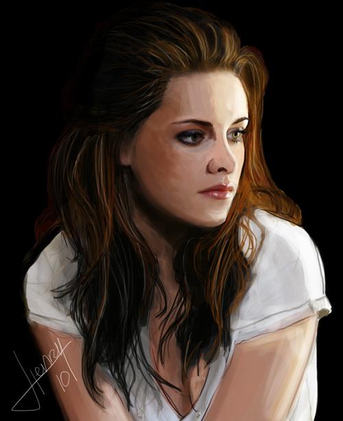Kristen Stewart by Hasuf3ll