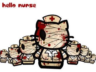 Hello Nurse by ObscureGraffix