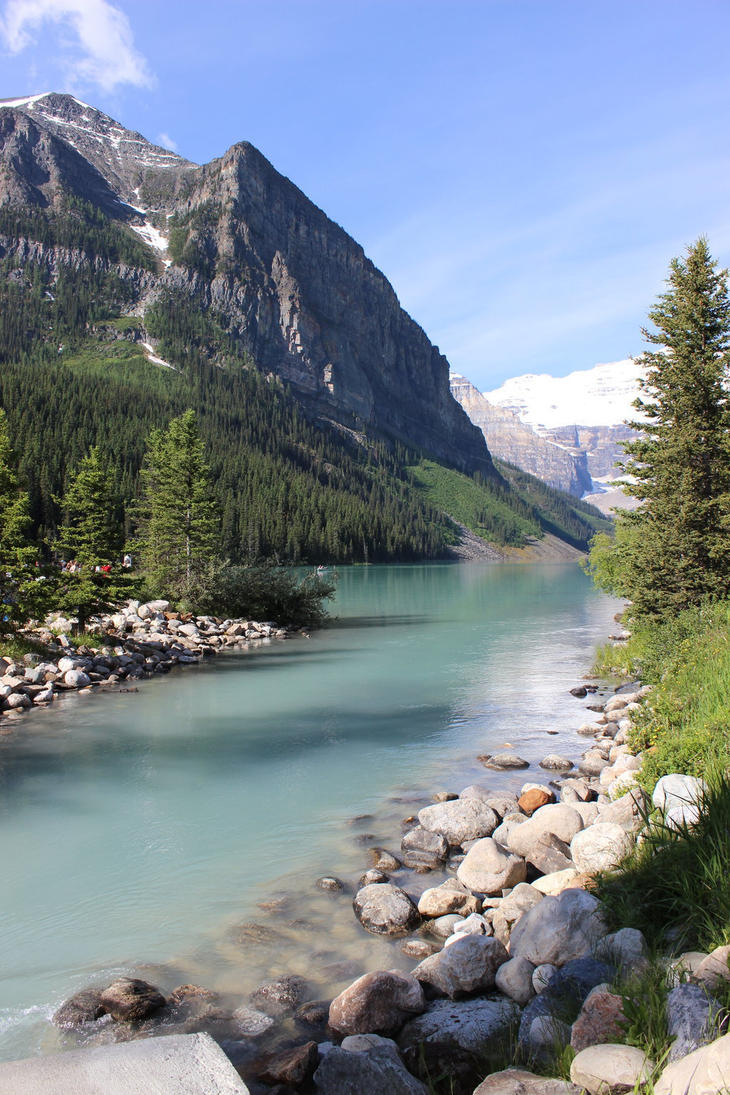 Summer Scenes Lake Louise2 By Qrinta On Deviantart
