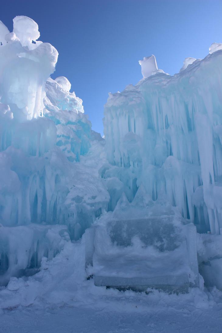 Winter Scenes - Ice Castle Throne by Qrinta