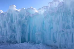 Winter Scenes - Ice Castle Wall2 by Qrinta
