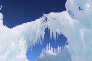 Winter Scenes - Ice Castle4 by Qrinta