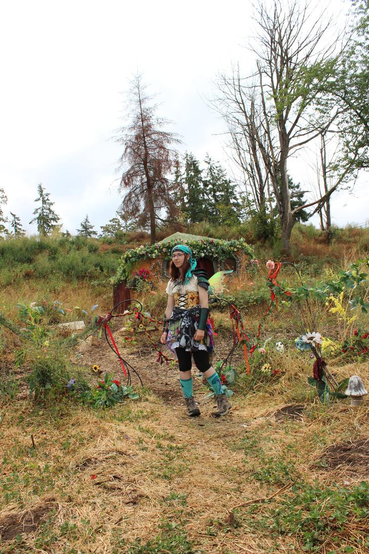 Model Stock - Fairy Garden by Qrinta