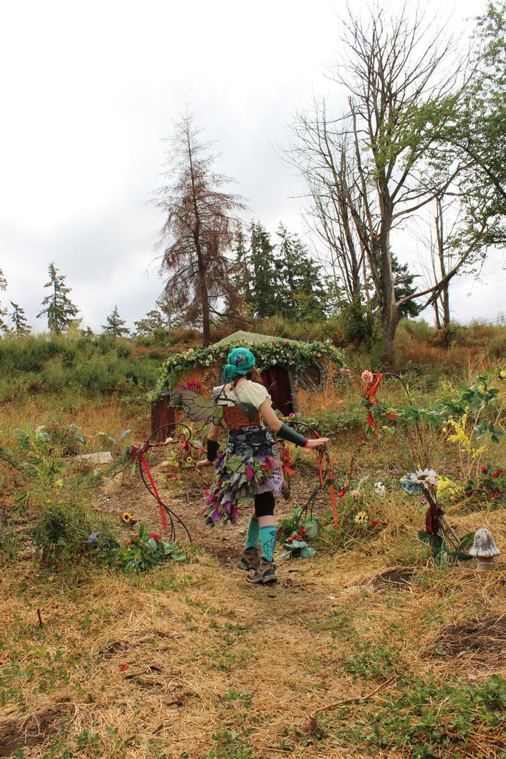 Model Stock - Fairy Garden Back by Qrinta