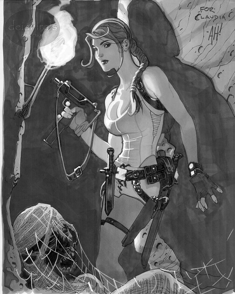 Tomb Raider by Adam Hughes by deianira-fraser
