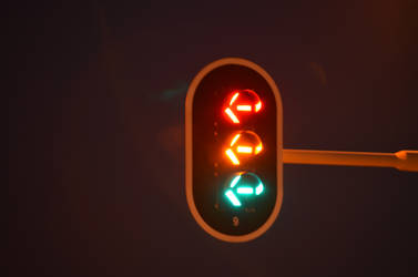 traffic lights bulbed by deianira-fraser