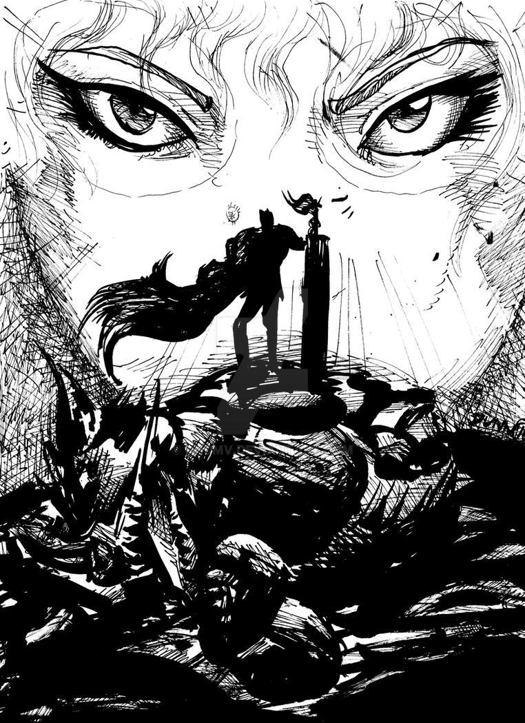 Spirit of Conviction - Berserk Fan Art by ghdmv