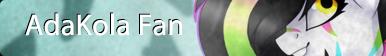 AdaKola Fan Button by SprinkleDashYT