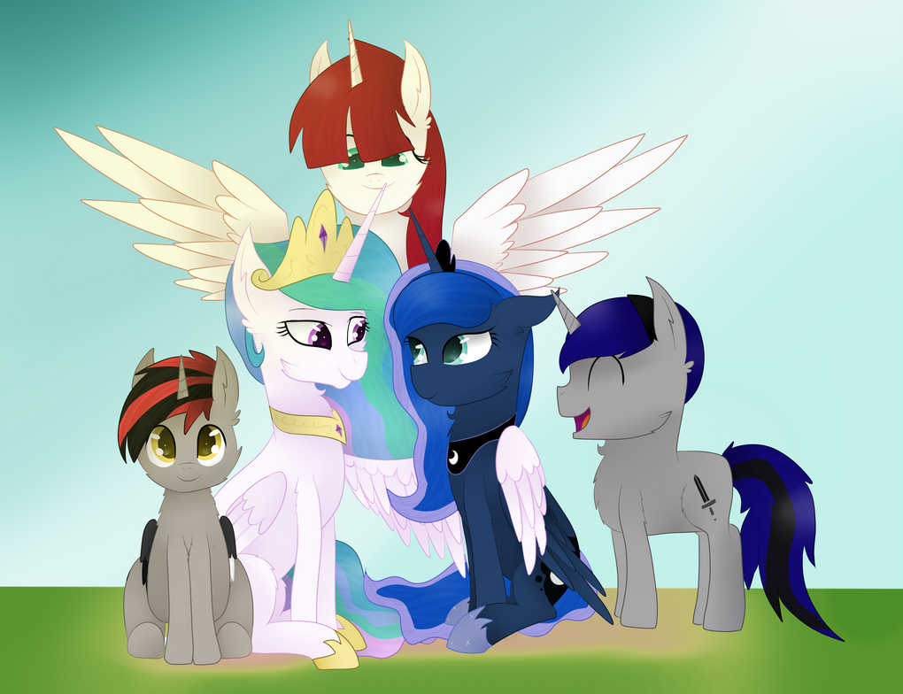 (C) The Family by SprinkleDashYT