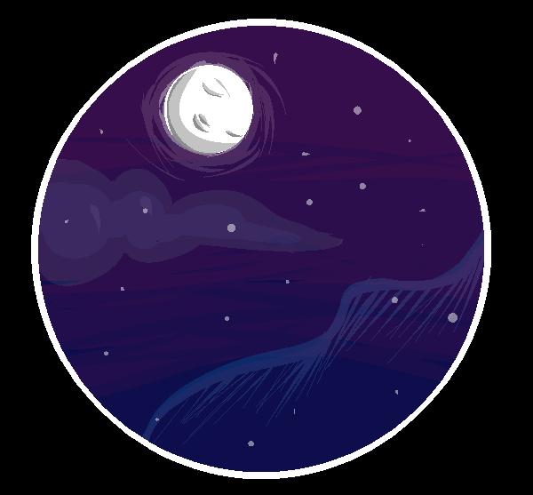 Night Time by SprinkleDashYT