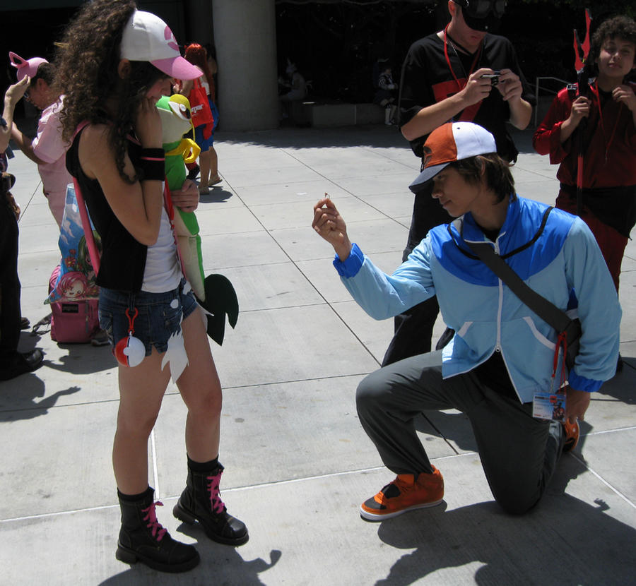 Pokemon trainer black cosplay