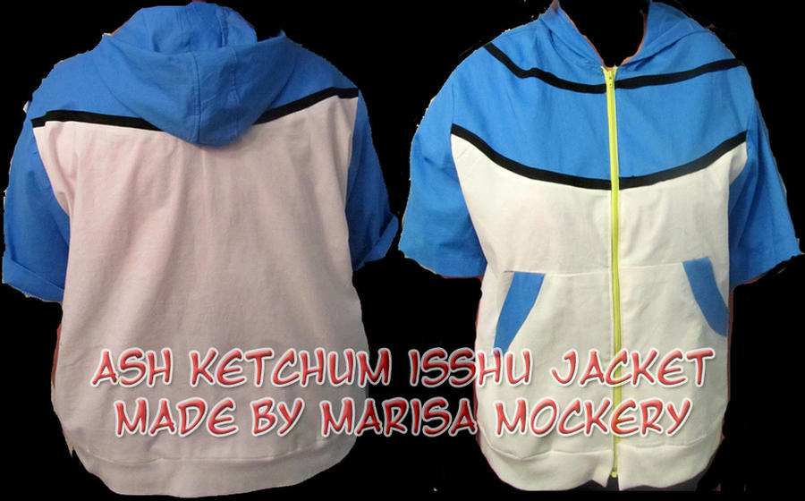 Ash Ketchum Isshu Jacket by moonymonster