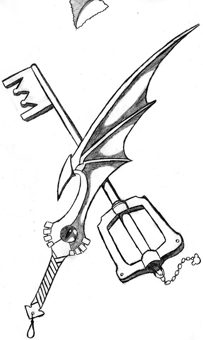 soul eater sword and keyblade by peppermintbutler21 on ...