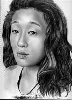 Sandra Oh-Christina Yang by reylia