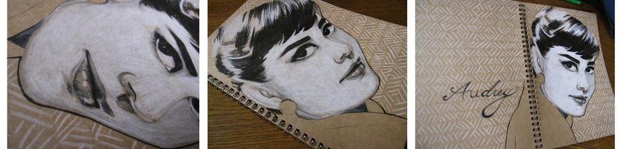 Notebook: Audrey Hepburn