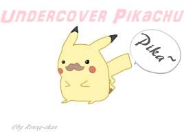 Undercover Pikachu x3 by PortgasDRonja97