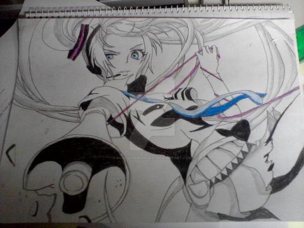 Hatsune Miku by PortgasDRonja97