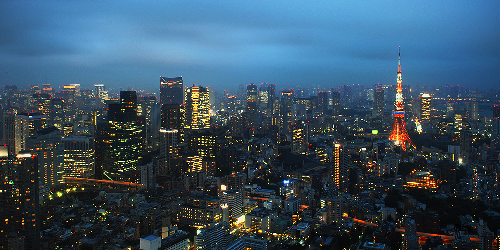 Sky Deck, Roppongi Hills by Guts80
