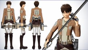 Eren Jaegar - Shingeki no Kyojin (Attack on Titan) by NipahMMD