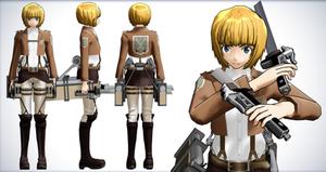 Armin Arlet - Shingeki no Kyojin (Attack on Titan) by NipahMMD