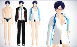 Rei Ryugazaki - FREE! Iwatobi Swim club by NipahMMD