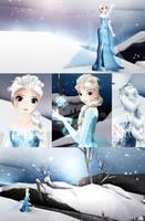 Elsa - MMD by NipahMMD