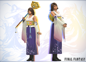 HD Yuna - Final Fantasy X (MMD) by NipahMMD