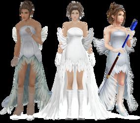 Wedding Yuna - W.I.P by NipahMMD