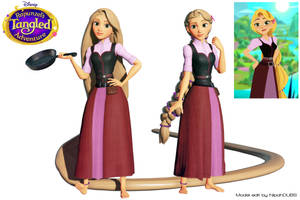 Rapunzel - Tangled the Series S.2 Version