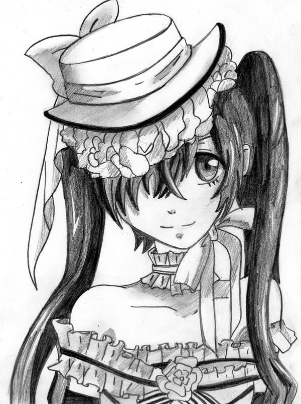 Kuroshitsuji Ciel girl by Mary147