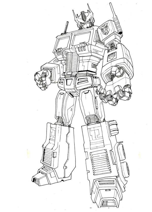 Optimus Prime Ink By Maxduro On Deviantart