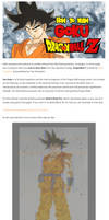 Learn how to draw Goku from Dragon Ball