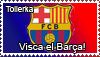 FC Barcelona stamp by Tollerka