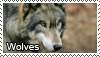 Wolves stamp by Tollerka