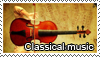 Classical music stamp by Tollerka