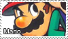 Mario stamp by Tollerka