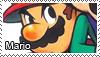 Mario stamp by Tollerka